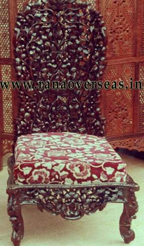 Wooden Carved Chair - 1
