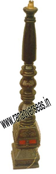 Wooden Lamp Base LS 406