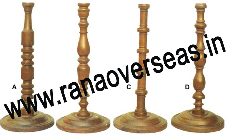 Wooden Lamp Base LS 393