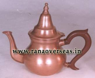 Copper Tea Pot.