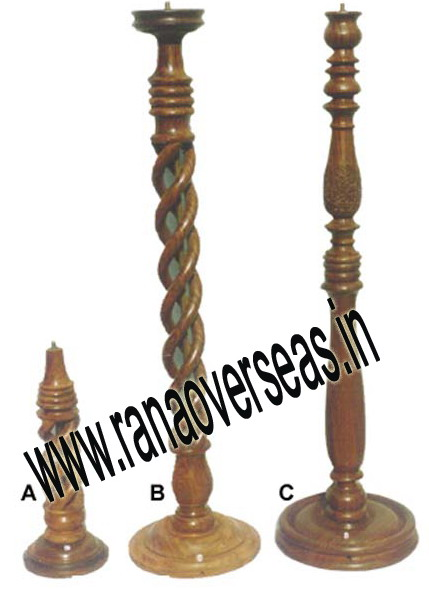 Wooden Lamp Base LS 396