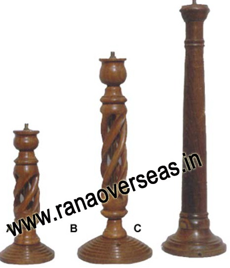 Wooden Lamp Base LS 398