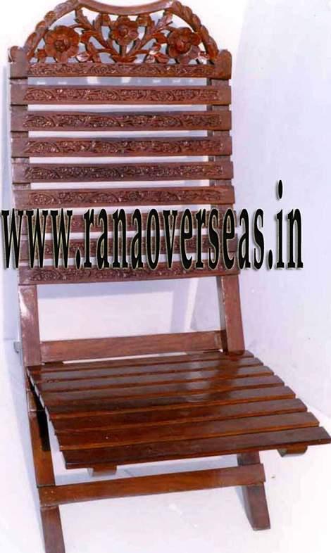 Wooden Relaxing Chair - 1