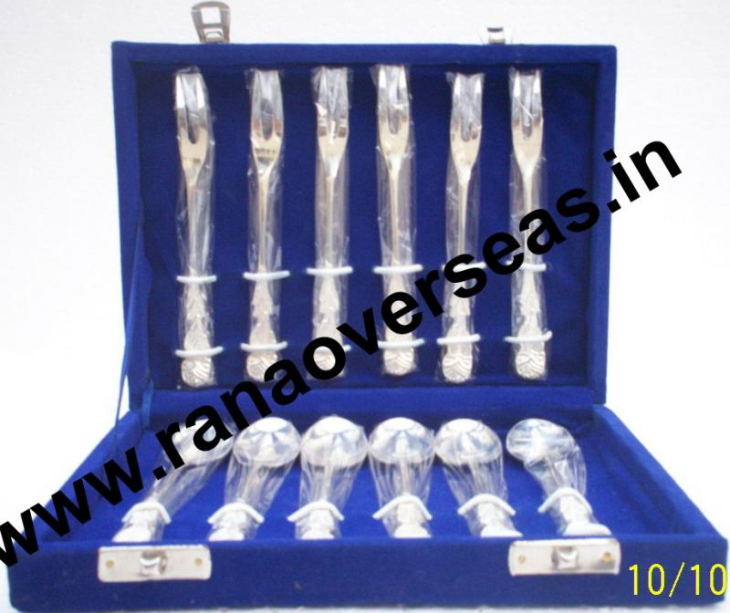 Silver Plated Cutlery Set 12 Pcs.