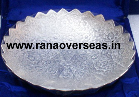 "Silver Plated Bowl in 10 ""Inches"