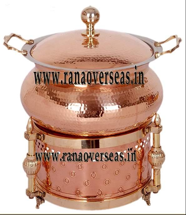 Copper Chefing Dish - 5