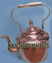 Copper Tea Pot. 2