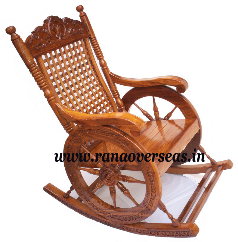 Wooden Rocking Chair 1