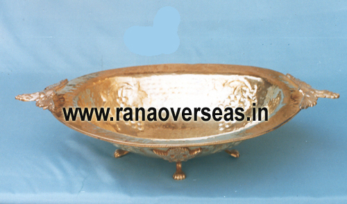 Brass Serving Dish 10