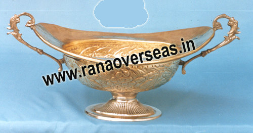 Brass Serving Dish 2