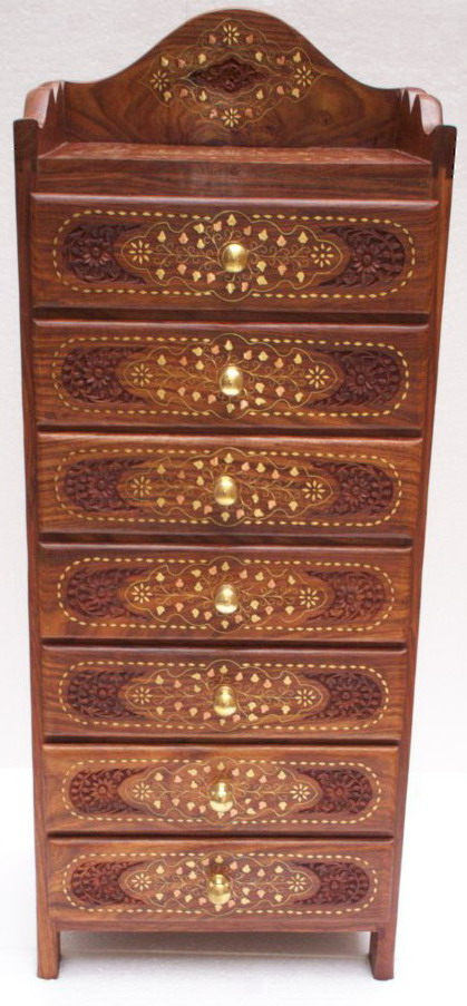 Wooden Drawer Chest - 2