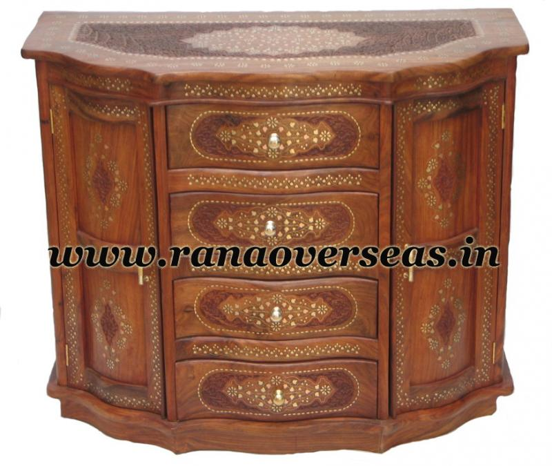 Wooden Drawer Chest - 4