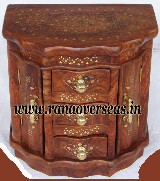 Wooden Drawer Chest - 5