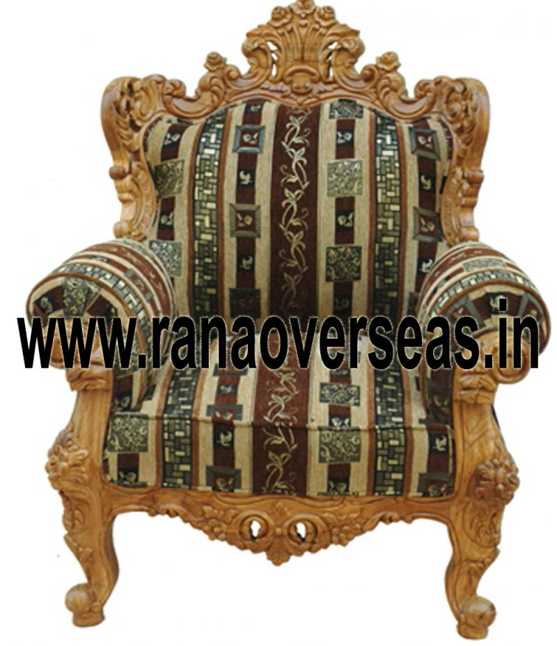 WOODEN CHAIR 16 SINGLE SOFA / CHAIR.
