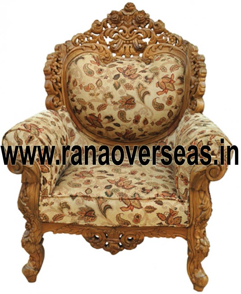 WOODEN CHAIR 18 SINGLE SOFA / CHAIR.