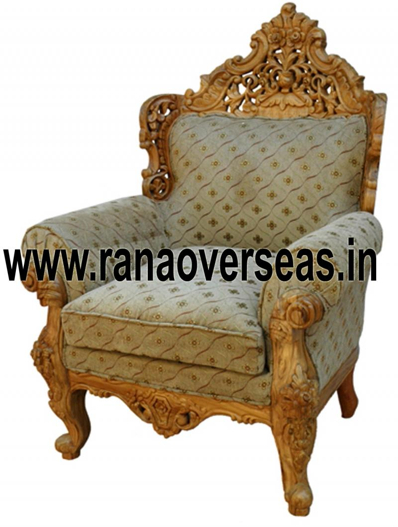 WOODEN CHAIR 15 SINGLE SOFA / CHAIR