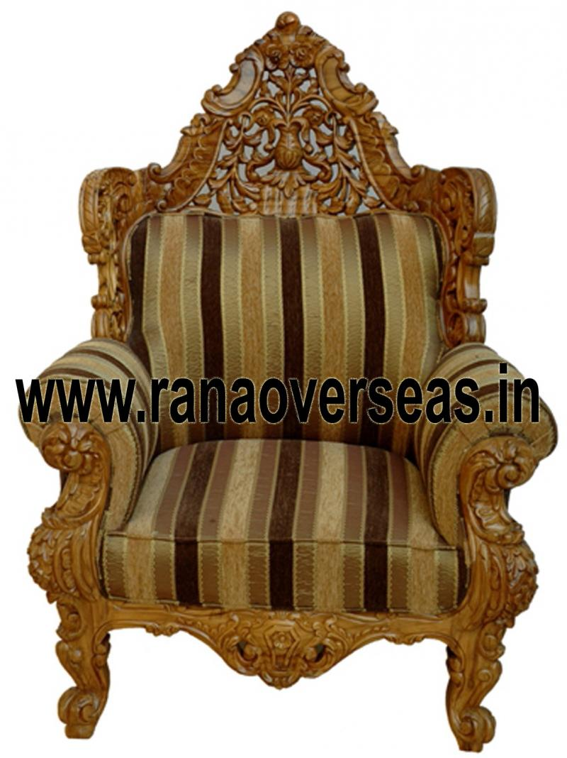 WOODEN CHAIR 19 SINGLE SOFA / CHAIR.