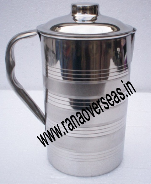 STAINLESS STEEL CATERING JUG 1