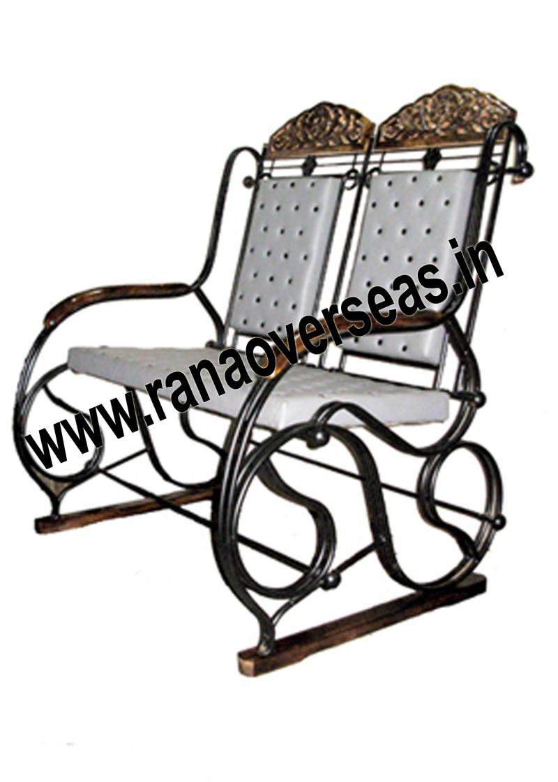 WOOD IRON COMBINATION CHAIR 4